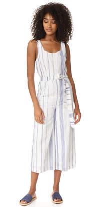 J.O.A. Stripe Jumpsuit $105 thestylecure.com