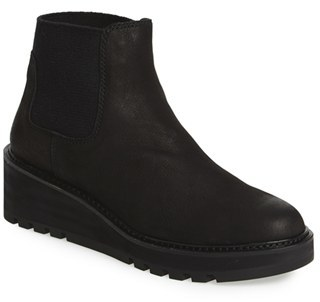 Women's Eileen Fisher Wedge Chelsea Boot $275 thestylecure.com