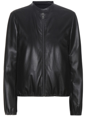 prada Prada Leather Jacket