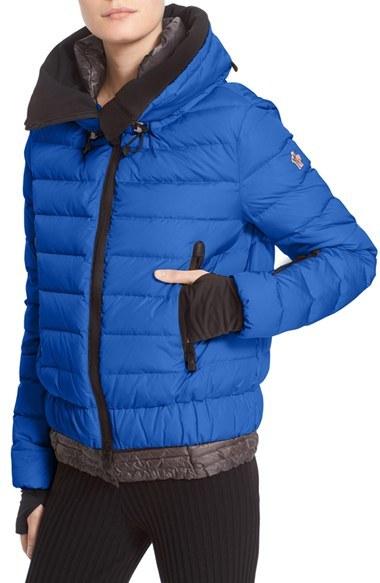 MonclerWomen's Moncler 'Vonne' Nylon Down Puffer Jacket