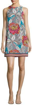Trina Turk Women's Macee Floral-Print Jersey Shift Dress