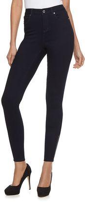 Women's Jennifer Lopez Zippered Ankle Jeans $60 thestylecure.com