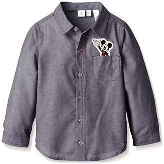 Disney (ディズニー) - (ディズニー) Disney OTONA DISNEY シャツ 332226024 ネイビー 95