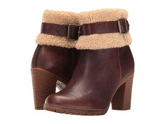 Timberland Glancy Teddy Fleece Fold-Down Boot Women's Boots