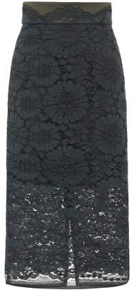 Schumacher Dorothee Lace Temptation cotton-blend skirt