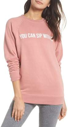 BRUNETTE the Label You Can Sip With Us Sweatshirt