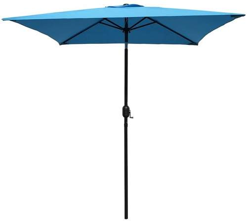 Highland Dunes Bookout Patio 6.5' Square Market Umbrella Fabric