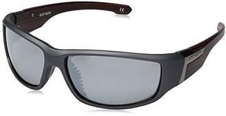 Body Glove Men's Bombie Polarized Wrap Sunglasses