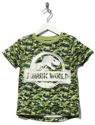 M&Co Jurassic World camouflage glow in the dark t-shirt