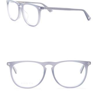 Gucci 55mm Rounded Optical Frames