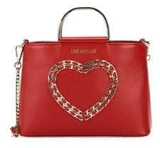 587f0ddf3d9 Love Moschino Heart Bag - ShopStyle