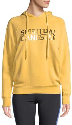 Spiritual Gangster Varsity Logo Raglan Pullover Hoodie