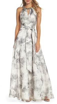 Women's Eliza J Beaded Ballgown $308 thestylecure.com
