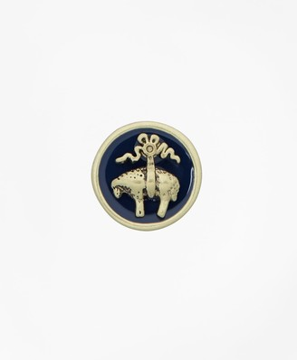 Brooks Brothers Enamel Lapel Pin