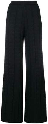 M Missoni high-waist flared trousers