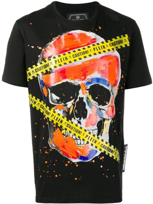 Philipp Plein Platinum Cut skull print T-shirt