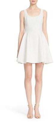 Women's Alice + Olivia 'Sadie' Fit & Flare Dress $348 thestylecure.com