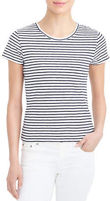 J.Crew MERCANTILE Striped Studio Cotton Tee
