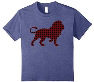 Retro Christmas Lumberjack Lion Trending T-Shirt
