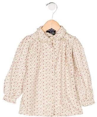 Polo Ralph Lauren Girls' Floral Print Top
