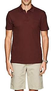 Sunspel Men's Riviera Cotton Polo Shirt - Rust