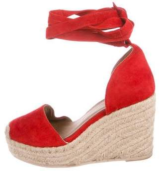 Raye Suede Wedge Pumps
