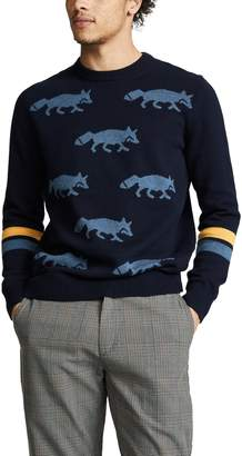 Paul Smith Intarsia Fox Sweater