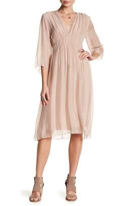 Luma Shirred Woven Dress