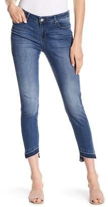 William Rast Skinny Ankle Asymmetrical Hem Jeans