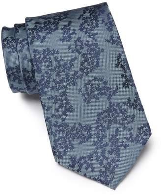 Calvin Klein Bouquet Silk Tie