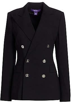Ralph Lauren Women's Iconic Style Camden Double-Breasted Blazer