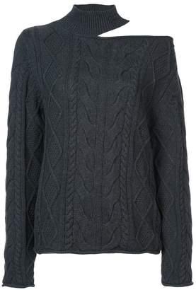 RtA shoulder cut-out jumper