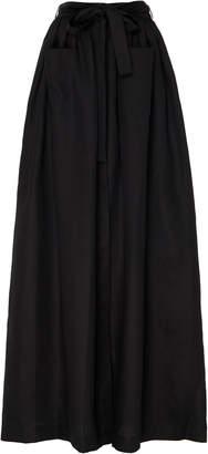 Deitas Edith Organic Linen Maxi Skirt Size: 36