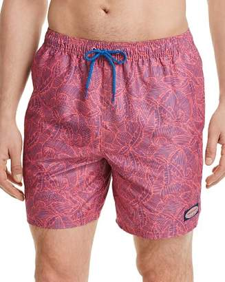 Vineyard Vines Linear Tropics Chappy Swim Trunks