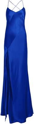 Mason by Michelle Mason Bias Cut Silk Charmeuse Gown