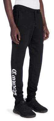 Marcelo Burlon County of Milan Fleece Drawstring Pants