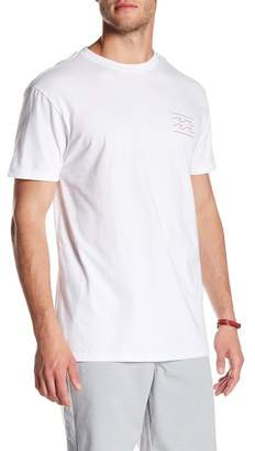 Billabong Flat Line Graphic Wave Tee