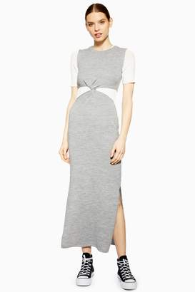 Topshop Twist Knitted Dress by Boutique