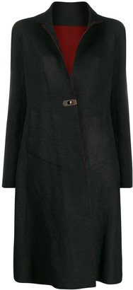Isaac Sellam Experience Depravee leather coat