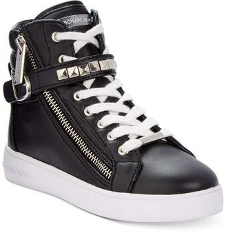Michael Kors Girls' or Little Girls' Ivy Rory Sneakers $64 thestylecure.com