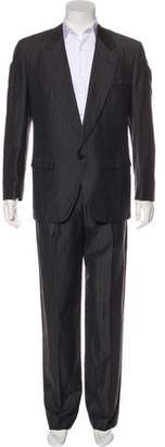 Gianni Versace Striped Two-Piece Suit