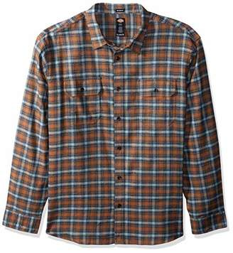 Dickies Men's Long Sleeve Relaxed fit Flannel Shirt