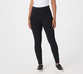 Susan Graver Petite Weekend Premium Stretch Leggings
