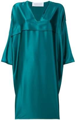 Gianluca Capannolo satin V-neck dress
