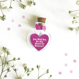 Munchkin Creative 'Will You Be My Maid Of Honour' Personalised Token