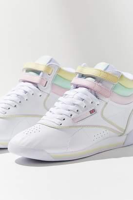 Reebok X GLOW Freestyle Hi Pastel Sneaker