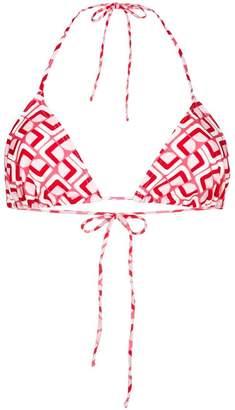 Valentino La Doublej Domino bikini top