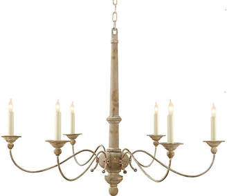 Visual Comfort & Co. Country Chandelier - Belgian White