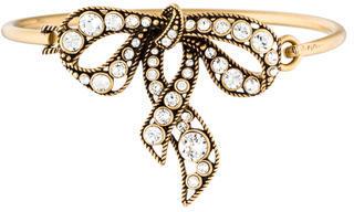 Marc JacobsMarc Jacobs Crystal Bow Bracelet