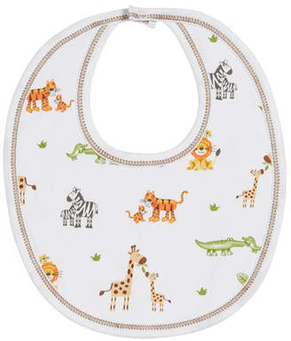 Kissy Kissy Jolly Jungle Printed Pima Bib